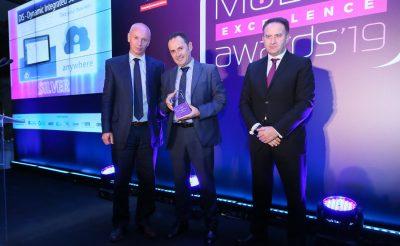DIS receives an award in Mobile Excellence Awards
