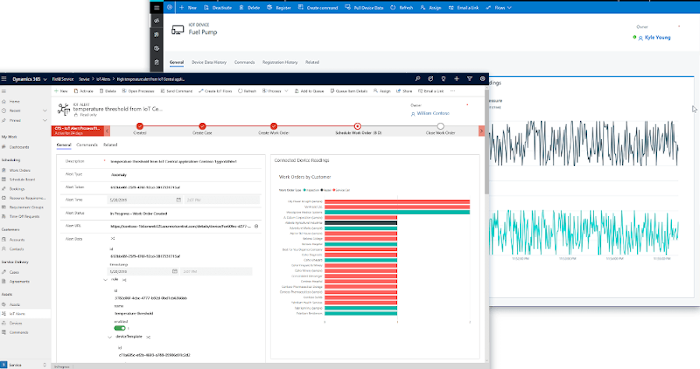 Dynamics 365 Field Service IoT Features