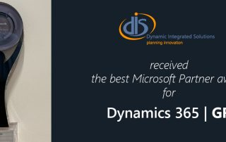 Best Dynamics 365 Partner Award