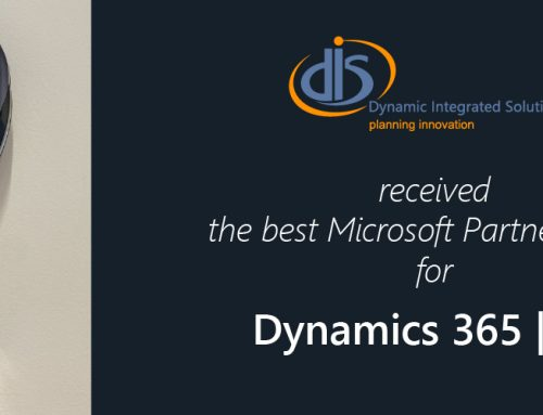 DIS received the Best Microsoft Partner in Business Applications award